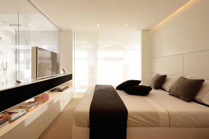 Banheiro integrado ao quarto