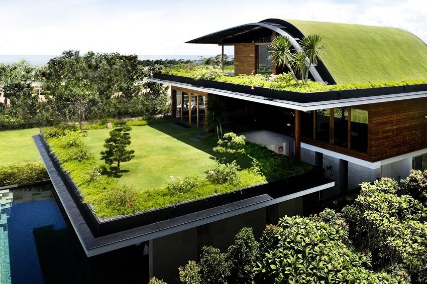 Telhados verdes: muito atém da beleza estética